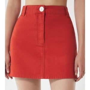 Urban Outfitters BDG Canvas Mini Skirt